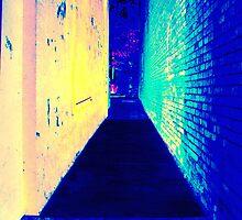 Alleyway  by David Schroeder
