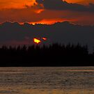 One Last Peek Sunset Florida  by Henry Plumley