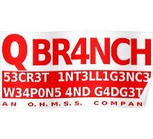 Q Branch Poster