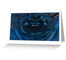 Abstract Digital Painting #14  Genesis Greeting Card