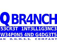 Q Branch Photographic Print