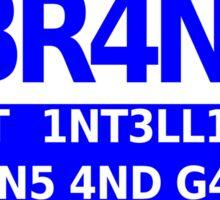 Q Branch Sticker