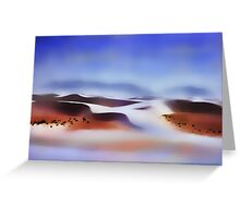 White Sands, NM Greeting Card