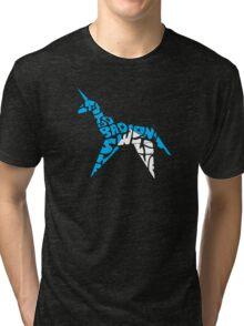 Gaff's Concession: Folded Version Tri-blend T-Shirt