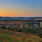 Pretoria at night #6 by Rudi Venter