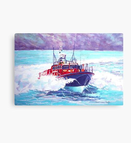 To The Rescue Canvas Print