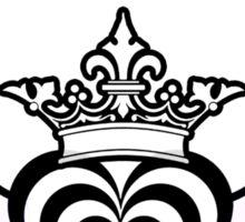 Zebra Heart 1 - April 2012 Sticker