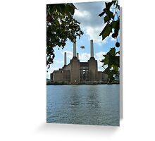 Battersea Power Station( pihk floyd pig) no.3 Greeting Card