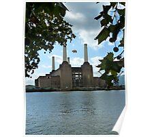 Battersea Power Station( pihk floyd pig) no.3 Poster
