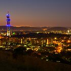 Pretoria at night #9 by Rudi Venter