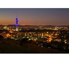 Pretoria at night #9 Photographic Print