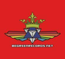 Winged Rainbow Tetra Star Is King - BGRTAG Kids Tee