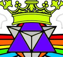 Winged Rainbow Tetra Star Is King - BGRTAG Sticker