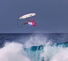 Joel Parkinson At 2006 Rip Curl Pro Pipe Masters by Alex Preiss