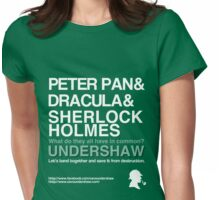 Save Undershaw Now Womens Fitted T-Shirt