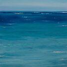 Ocean at the morning by Yuliya Glavnaya