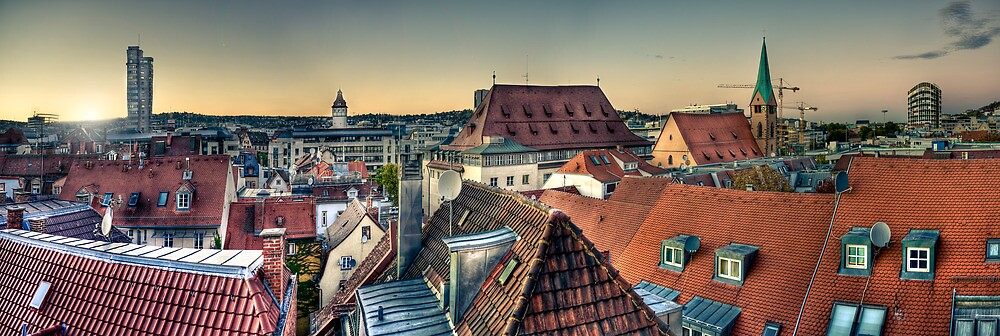 Over the roofs by wulfman65