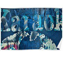 Karaoke Blue Poster