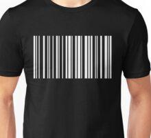 HELLO in Barcode Unisex T-Shirt