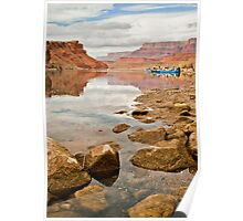 Lees Ferry, Marble Canyon, Arizona Poster