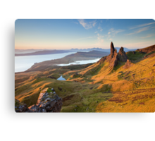 The Old Man of Storr Canvas Print