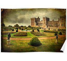 Windsor Castle Gardens Poster
