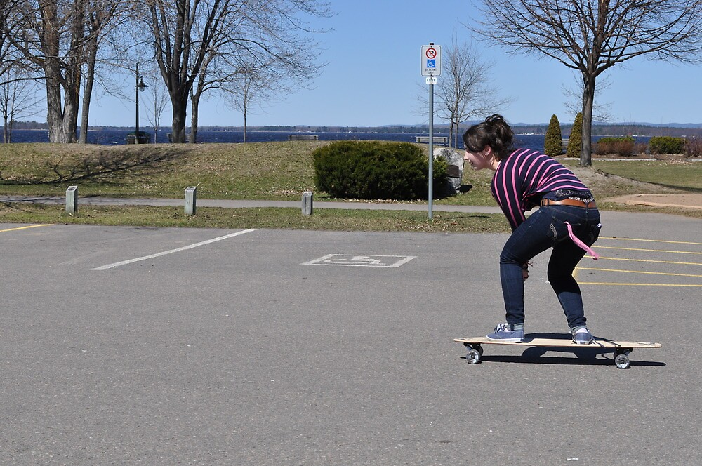 Action - Skater girl 1 by Majameath