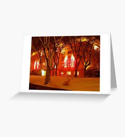 Spirits of Christmas Past in Prescott, Arizona Greeting Card