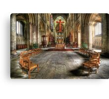 The Gathering - Peterborough Cathedral Canvas Print
