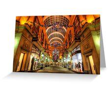 Nottingham Exchange Arcade Greeting Card