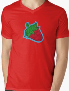 Strawberri  Mens V-Neck T-Shirt