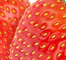 Two strawberries Sticker