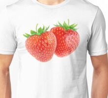 Two strawberries Unisex T-Shirt