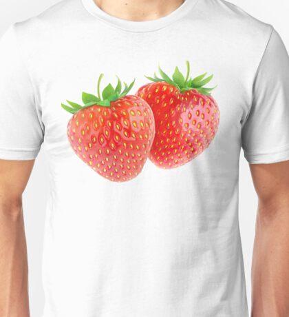 Two strawberries Unisex T-Shirt