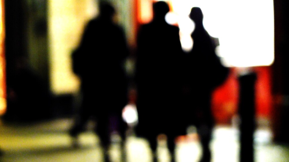 Blurred Visitors by Sherion