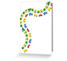Boys' Toys Greeting Card