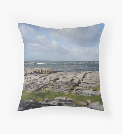 Galway, Eire Throw Pillow