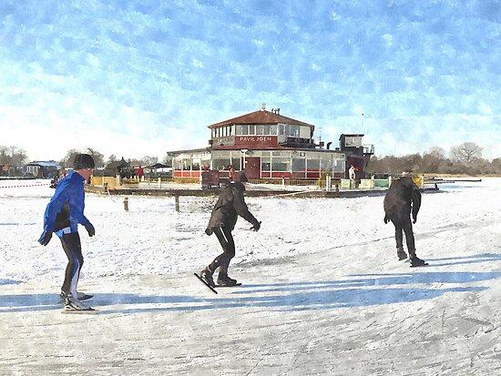 Ice Skaters by BillKret