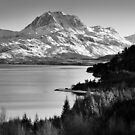 Slioch and Loch Maree, Scotland by Justin Foulkes