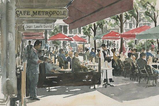 Café Metropole, Brussels by ian osborne