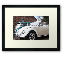 vw heaven Framed Print
