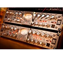 Sound Gear 2 - Mic Preamp Photographic Print