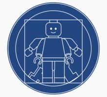 Vitruvian brick (blueprint) by wuxter