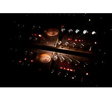 Sound Gear 3 - Mic Preamp Photographic Print