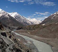 Chandra River Lahaul Valley by SerenaB