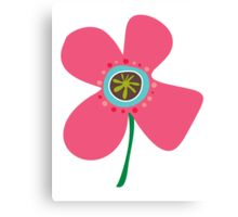 Pink Daisy Pop Canvas Print