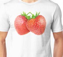 Pair of strawberries Unisex T-Shirt