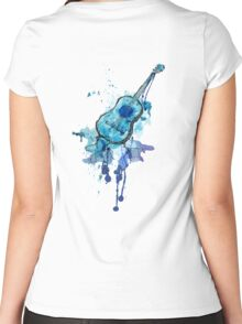 The Blues... Women's Fitted Scoop T-Shirt