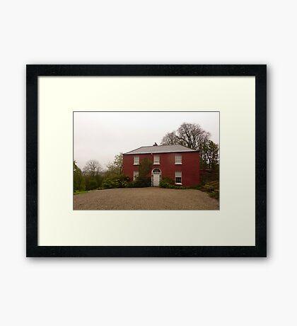 Glebe House Framed Print