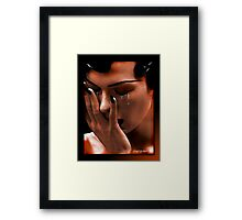 The Tears Framed Print